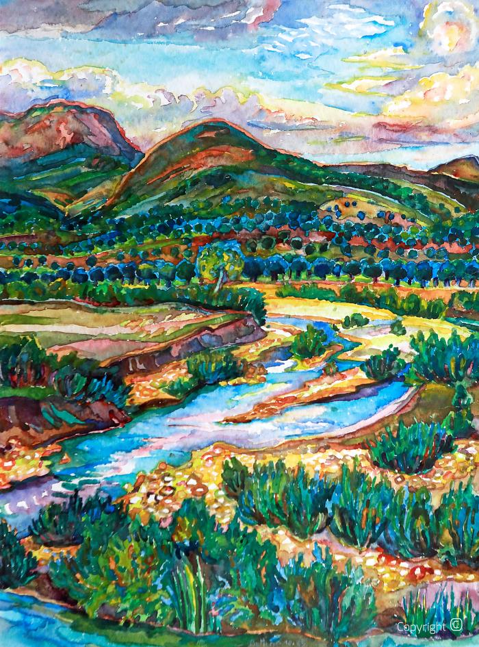 La vallée de Seybouse près de Guelma, 1985