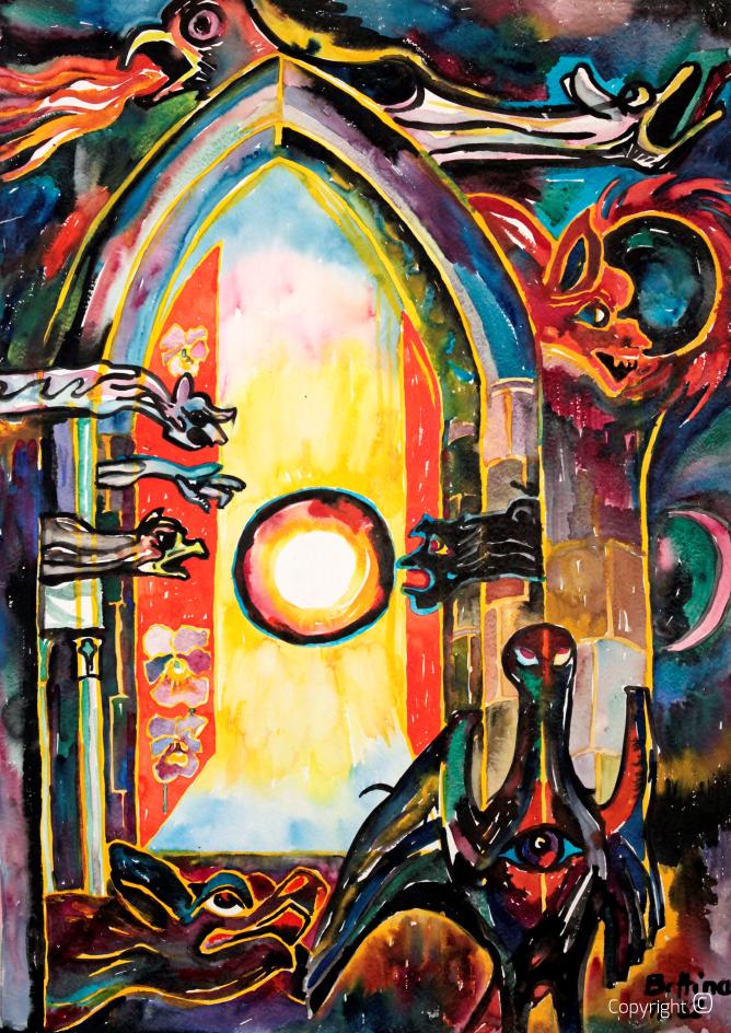 Gorgonen IV - La porte de l'enfer, 1962