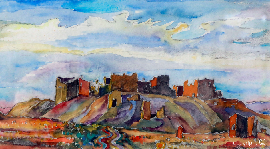 The Tahouda oasis, 1971