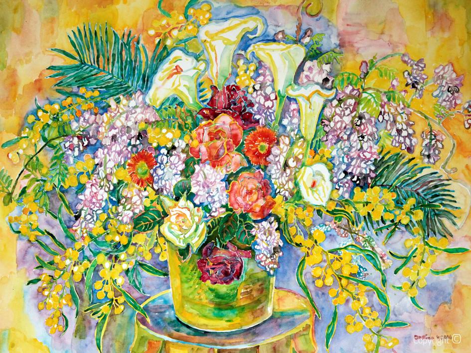 Portrait de fleur, 2006