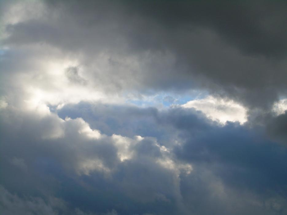 Ciel nuageux sur Guelma, 2009