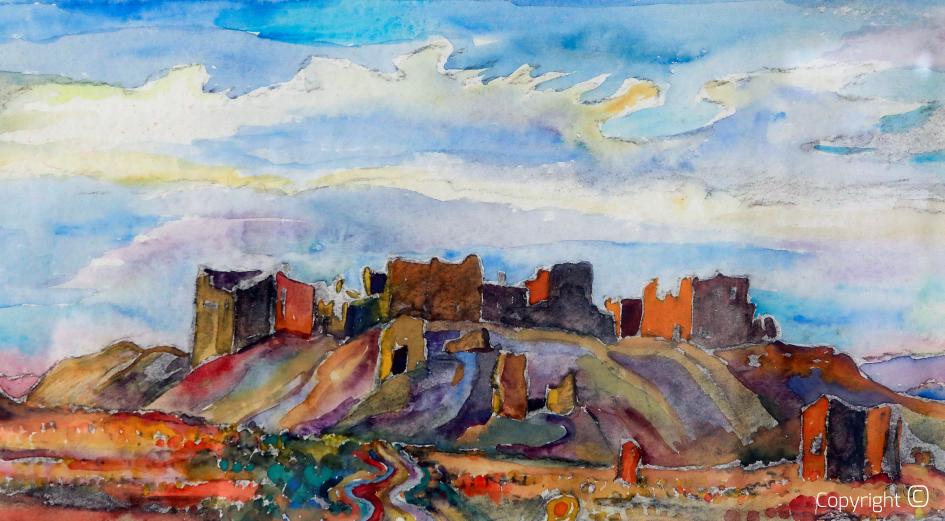 L'oasis de Tahouda, 1971
