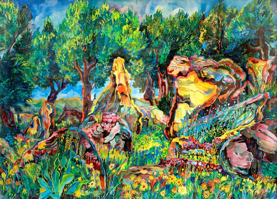 The paradise garden near Guelma, 1970