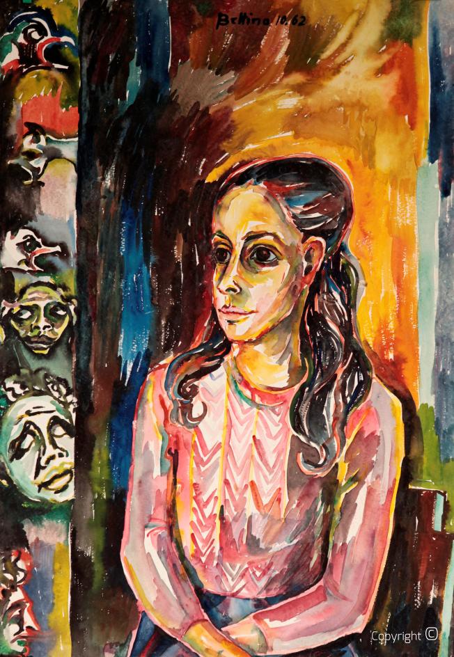A girl, 1962