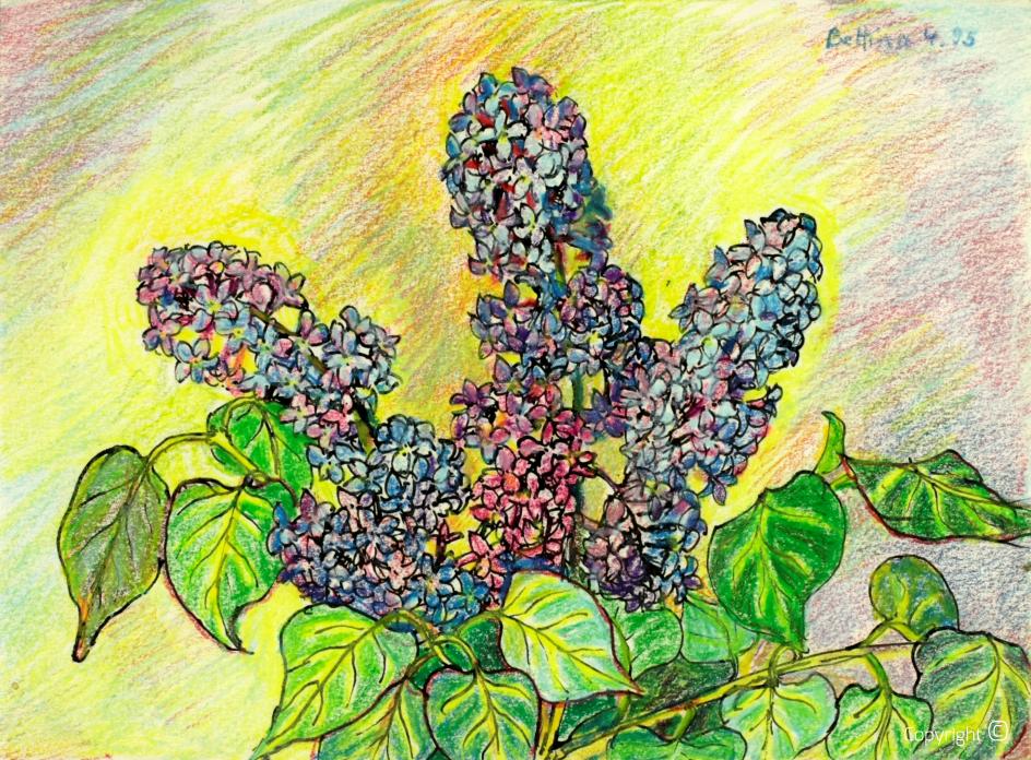 Étude sur les fleurs, 1995