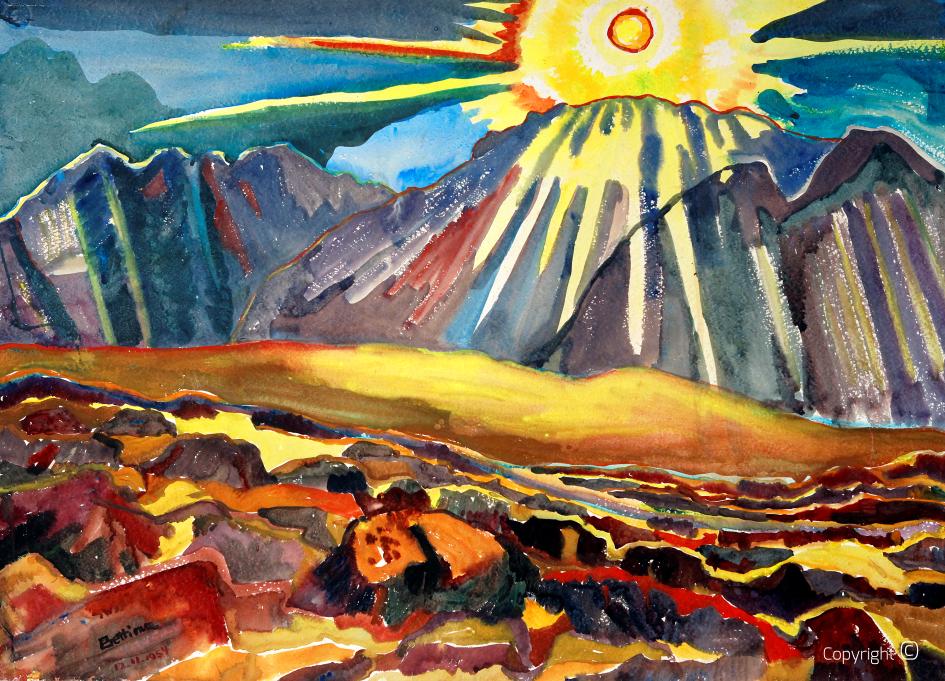 Sonne über Norwegen, 1954