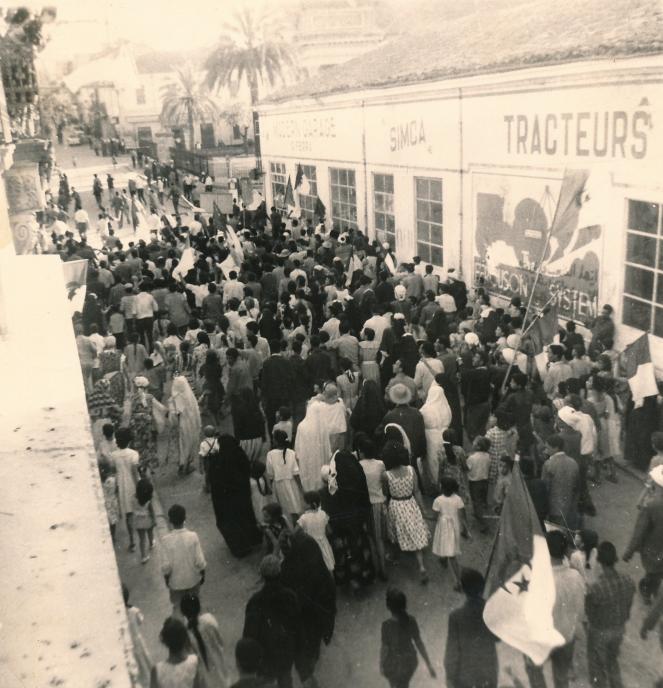 Fêtes du 5 Juillet 1962 – jour de l´indépendance – à Guelma.