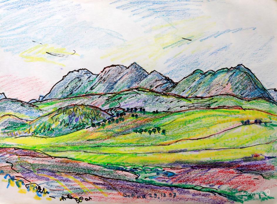 Der Djebel Debagh bei Guelma, 1997