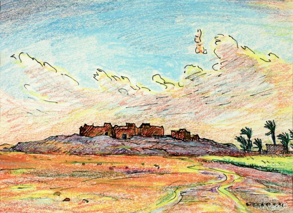 L'oasis de Tahouda, 1991
