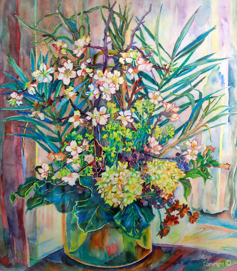 Portrait de fleur,  1978