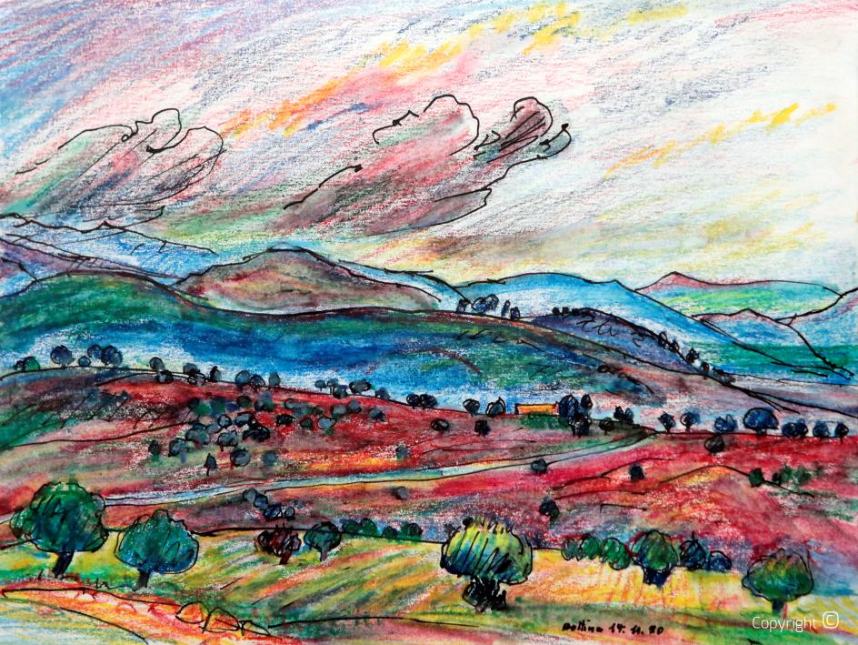 Massif de Houara près de Guelma, 1980