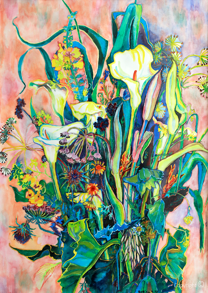 Flower portrait,  1972