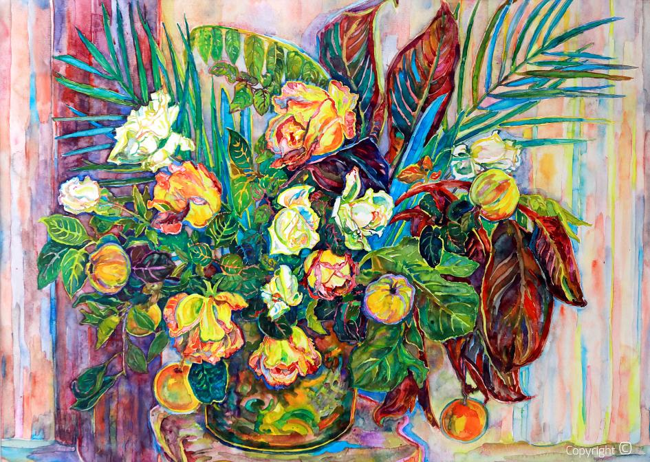Portrait de fleur,  1989