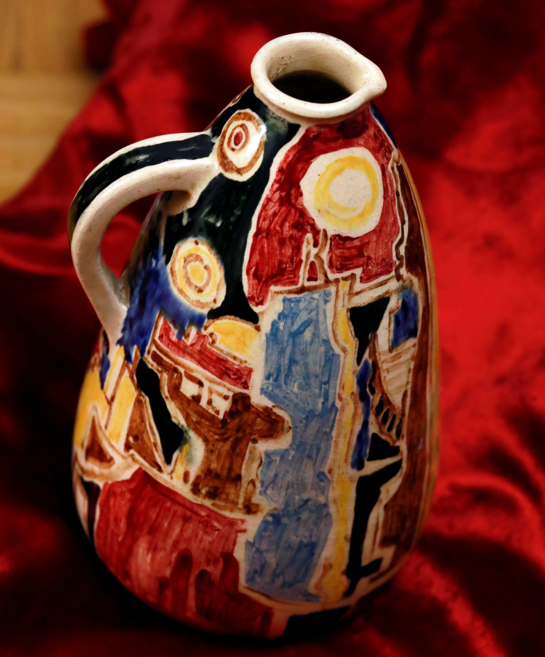 Conception d'un vase, 1955