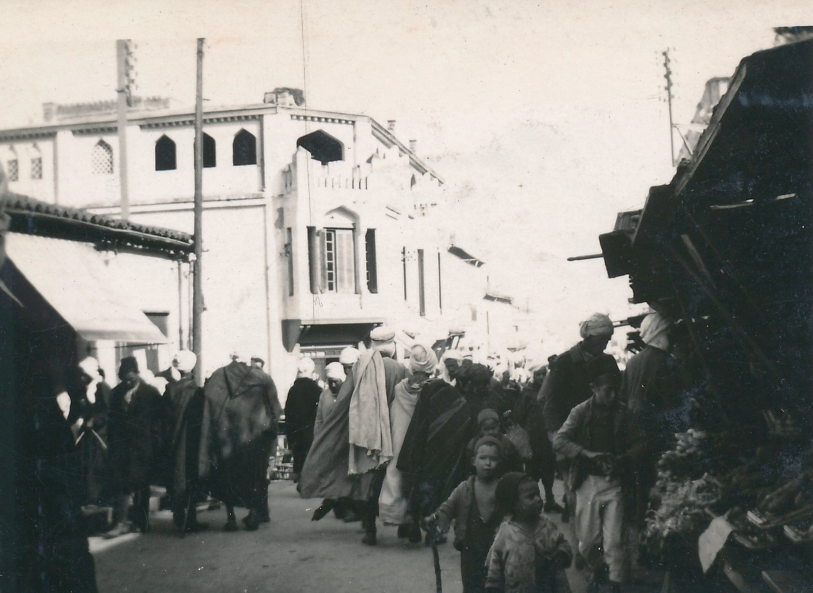 Street in Guelma, 1963