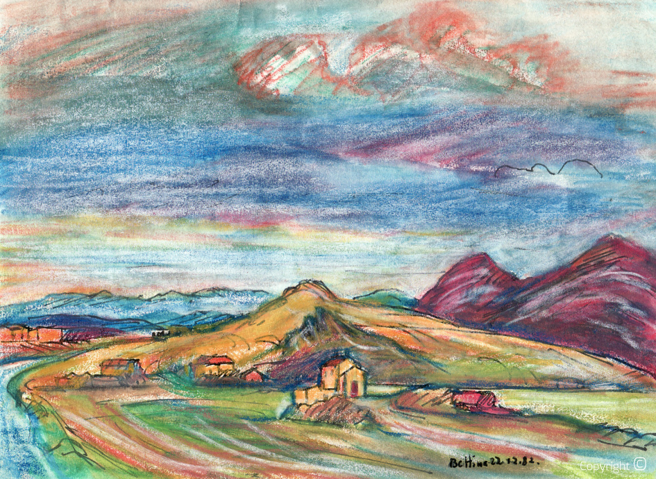 Le plateau de Batna en Algérie, 1982