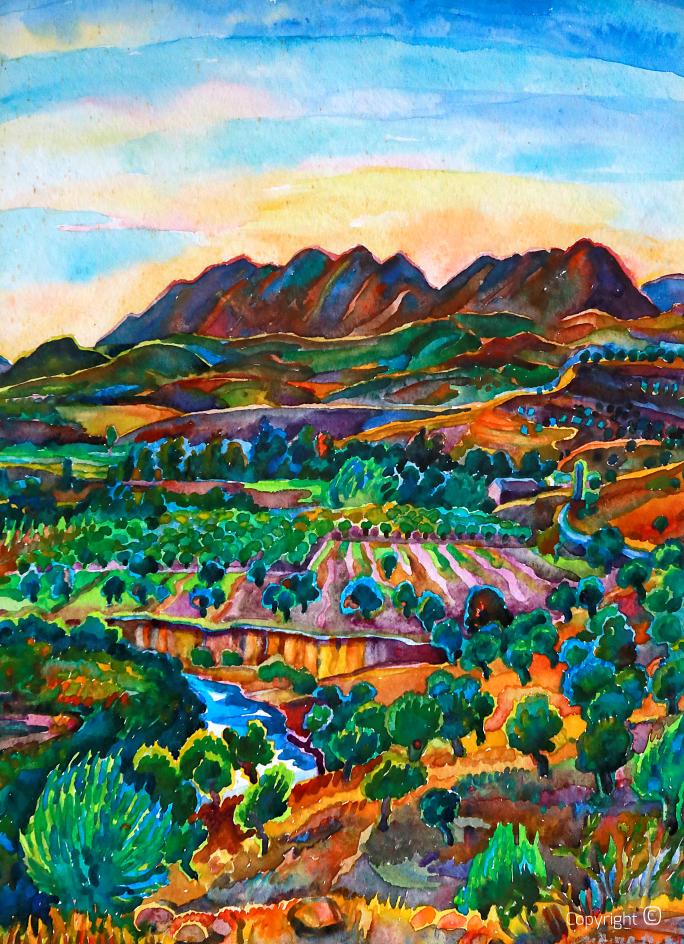 Die Seybouse und der Djebel Debagh, 1975