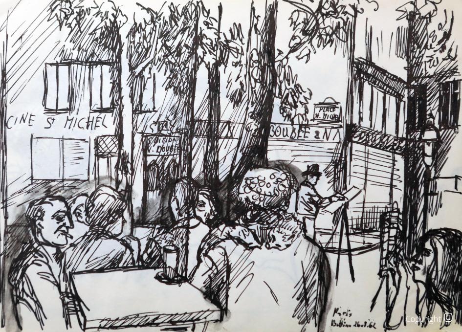 Montmartre, 1961