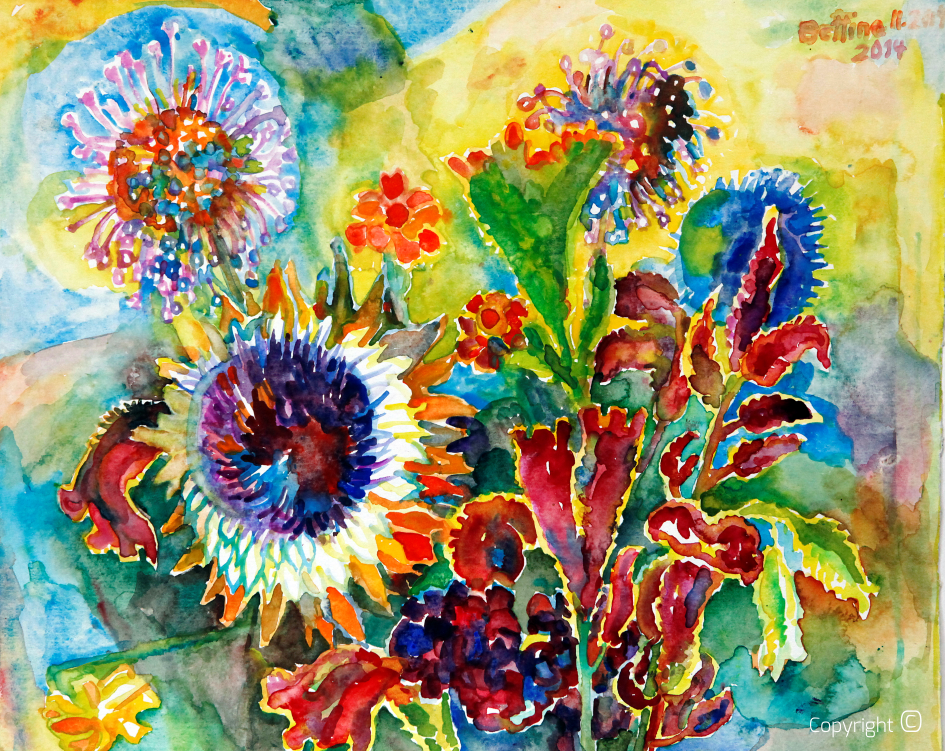 Blumenportrait, 2014