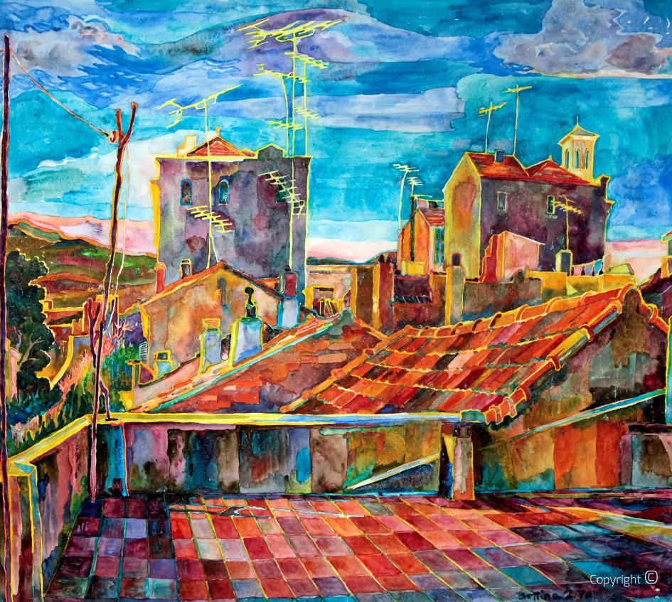 Über den Dächern von Guelma, 1970
