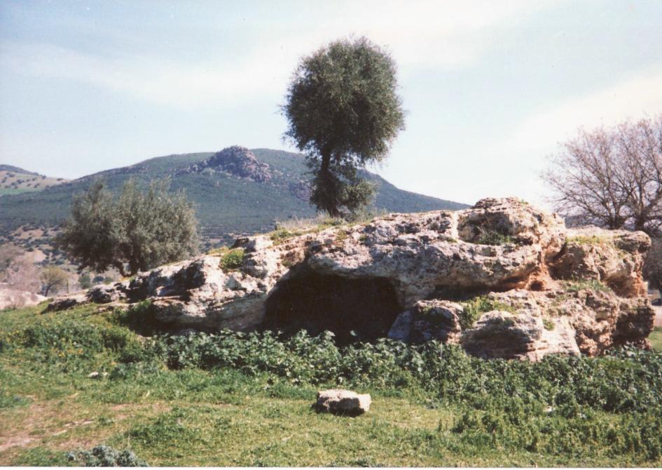 Landscape in Hammam Debagh formerly Hammam Meskhoutine
