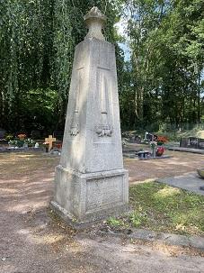 Obelisk des Freidenkervereins. (Foto: Manuel Izdebski)