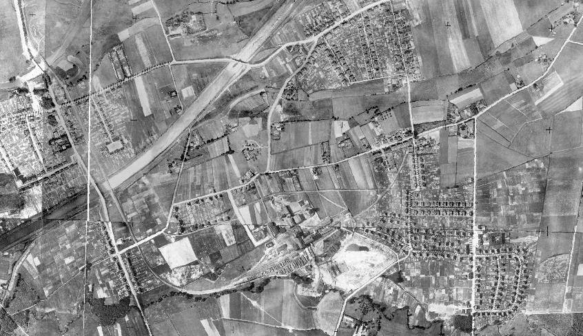 Historisches Luftbild von Rünthe aus dem Jahre 1926