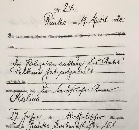 Anna Kalina: Neuer Gedenkstein für Opfer des Ruhraufstands von 1920