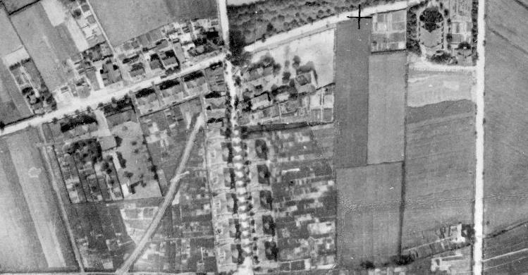 Historisches Luftbild Rünther Straße 1926