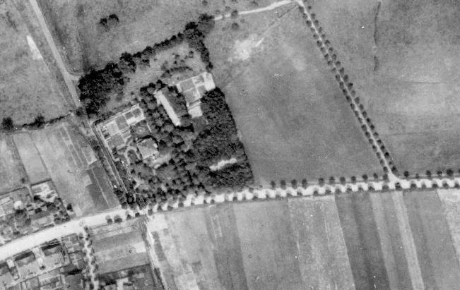 Luftbild Haus Rünthe von 1926