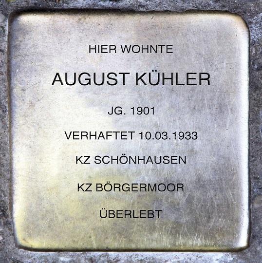 August Kühler: Vom KZ-Häftling zum Bürgermeister