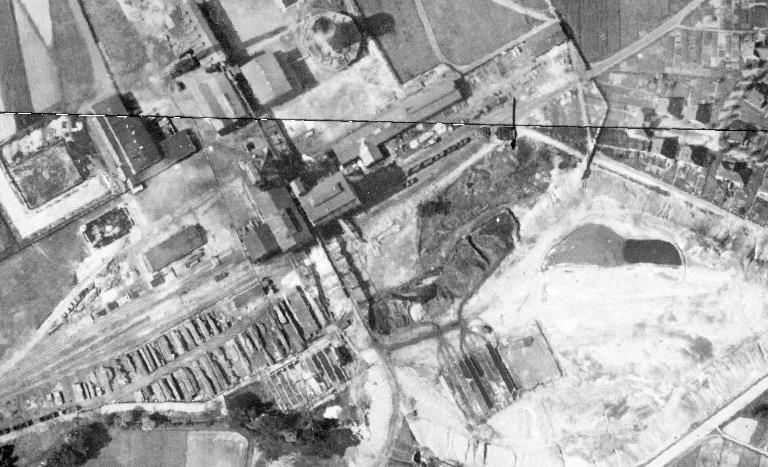 Historisches Luftbild Schacht III in Rünthe 1926