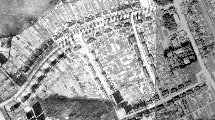 Historisches Luftbild Kolonie Rünthe-West aus dem Jahre 1926