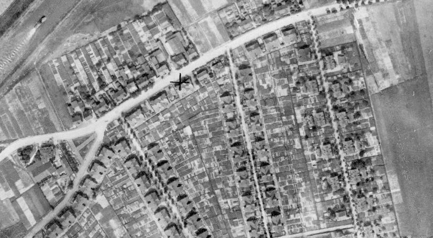 Luftbildaufnahme Alte Kolonie Rünthe 1926
