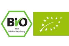 Bio- Siegel Deutschland und EU