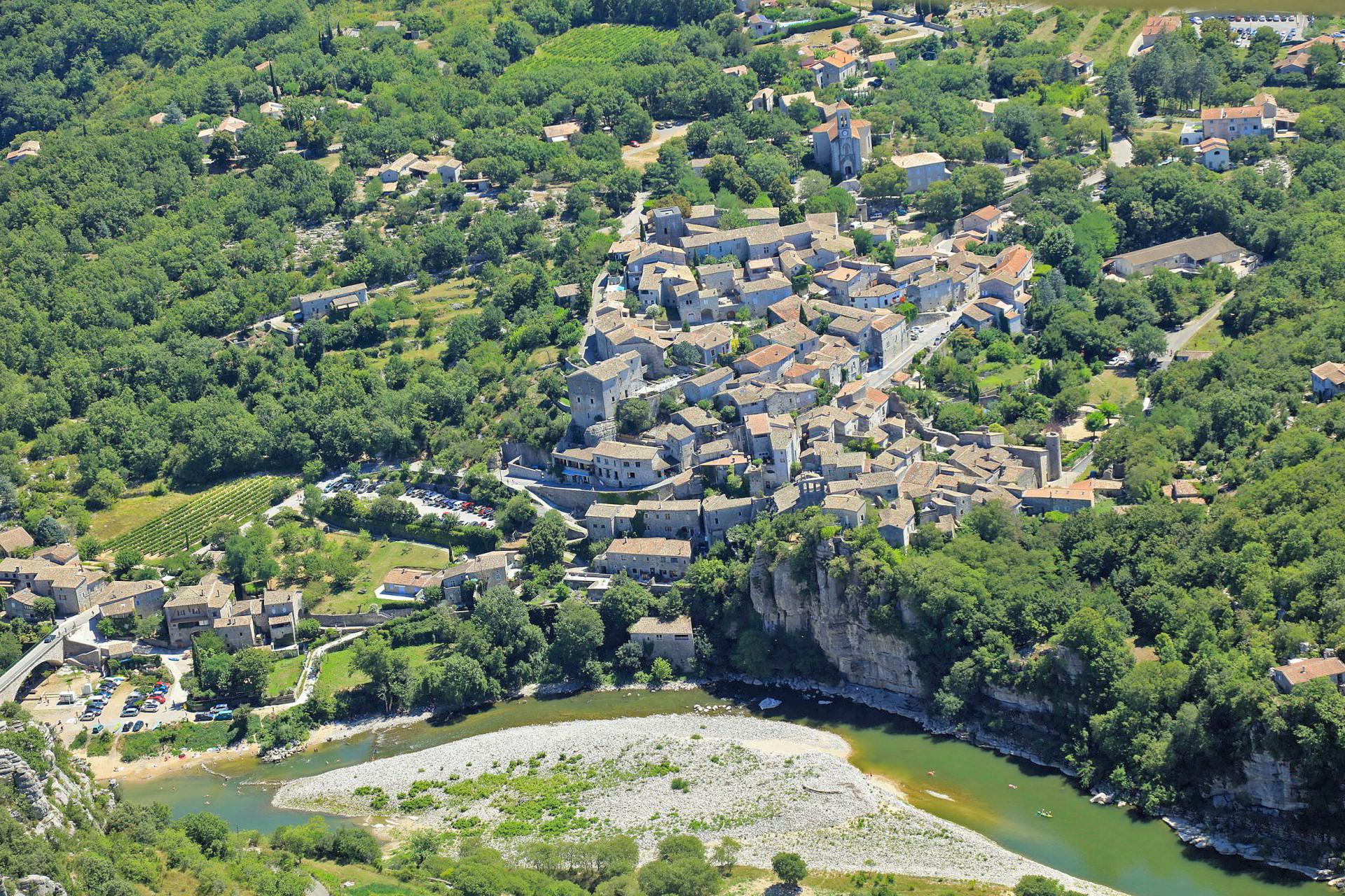 Balazuc, south Ardeche