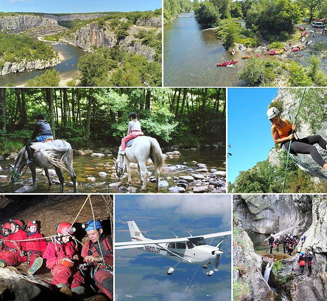 Activités en sud Ardèche