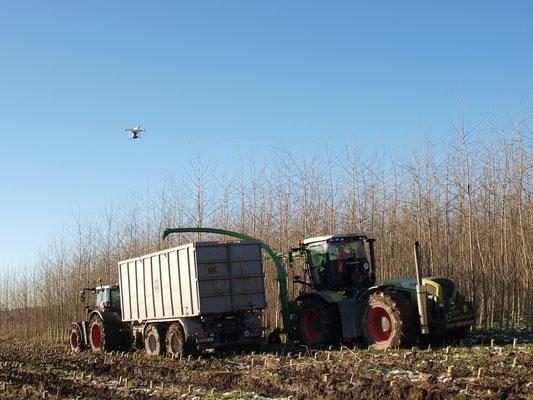 Verladung der Ernte mit MH-130