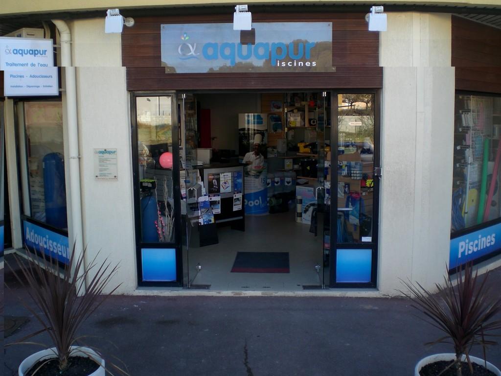 Installation vente Adoucisseurs Aquapur - Boutique à Clapiers près de Montpellier (34) Aquapur