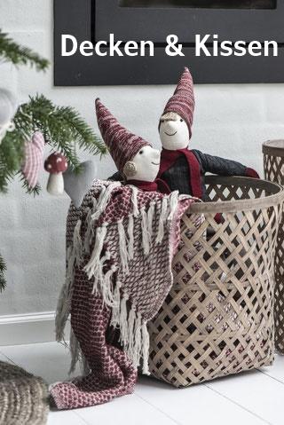 Kissen und Decken für die Winterzeit