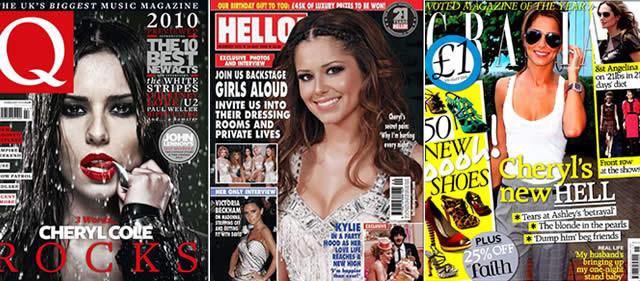 Q Magazine / Hello / Grazia - 2010