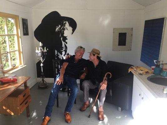 In atelier Hans oktober 2018