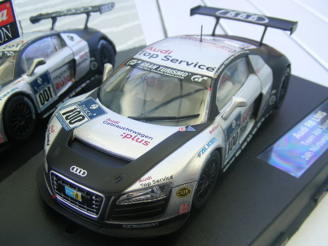 Carrera Evolution 27321 Audi R8 LMS Team ABT Sportsline Nürburgring 2009