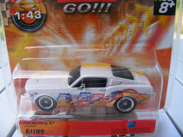 Carrera GO 61185 Ford Mustang '67 Custom only USA