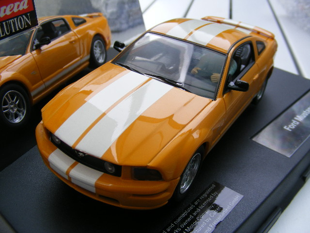 Carrera Evolution 27175 Ford Mustang GT YEllOW only USA