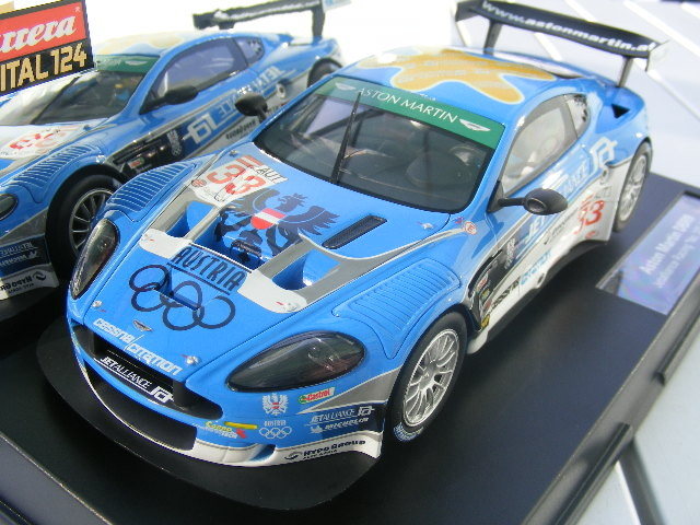 "Carrera Digital 124 23763 Aston Martin DBR9 Jetalliance Racing ""No. 33"", 2008"
