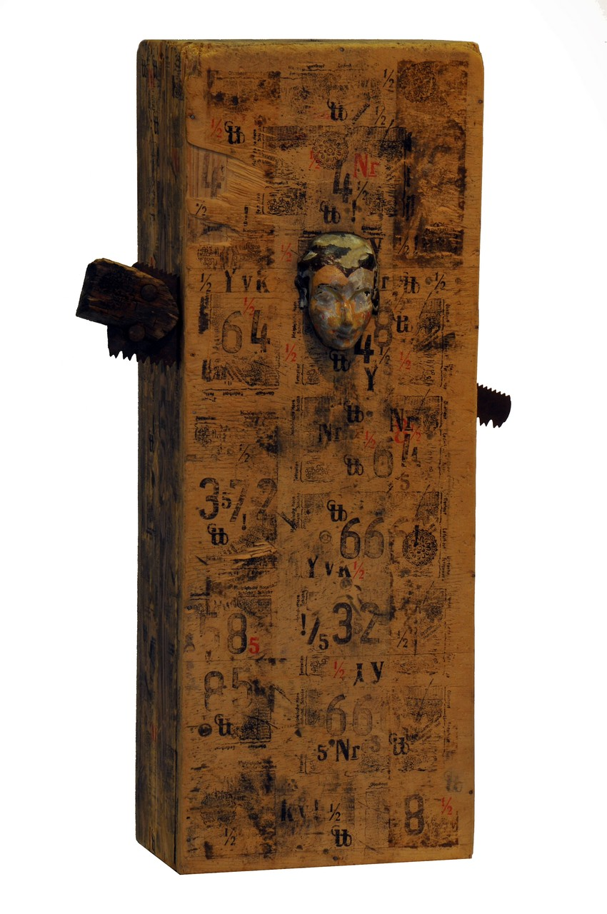 "Kai Wolf - Kinetisches Objekt ""Magican's Box 2"""
