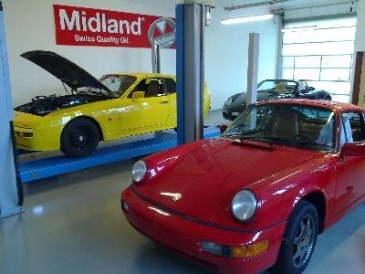 Letzter Tag nach der Motorenrevision am Porsche 944