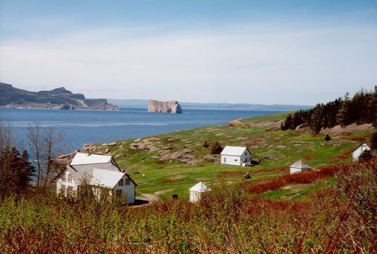 Vue de l'Île Bonaventure