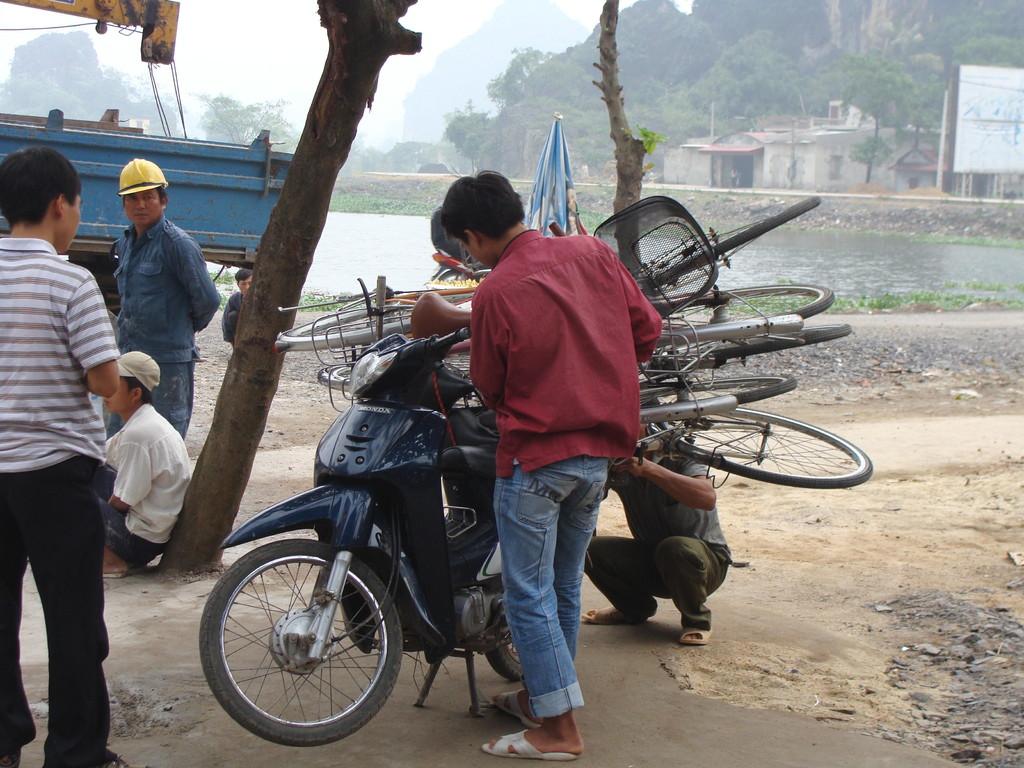 Nos vélos qui arrivent